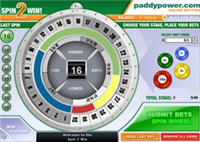 Paddy Power Wheel of Fortune game